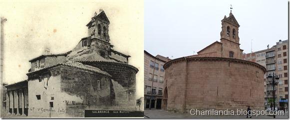 iglesia de san marcos 1927 2012 salamanca antes despues