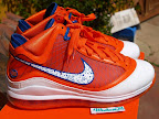 nike air max lebron 7 pe hardwood orange 3 04 Yet Another Hardwood Classic / New York Knicks Nike LeBron VII