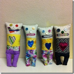 monster worry dolls