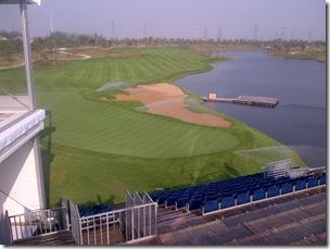 view to 18th green