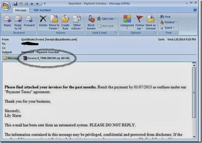 email cryptolocker