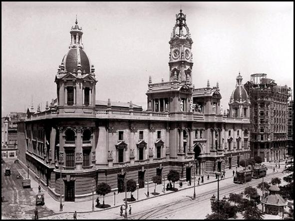ayuntamiento de valencia 1929