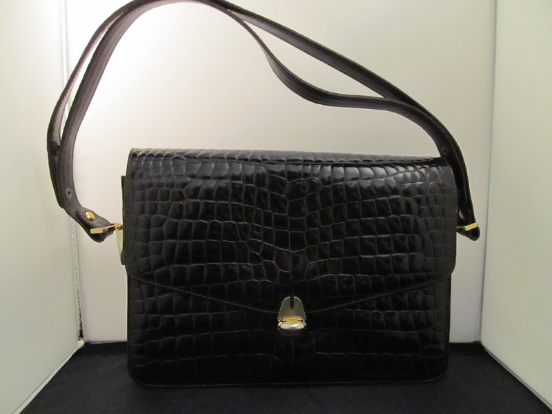 Castellari Vintage Alligator Handbag