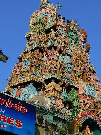 Gopura in Tamil Nadu South India