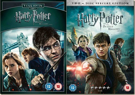 Harry Potter Deathly Hallows both