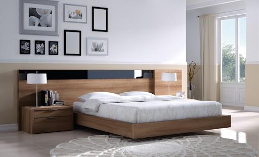 Dormitorio de la colección Nuit de Kibuc.