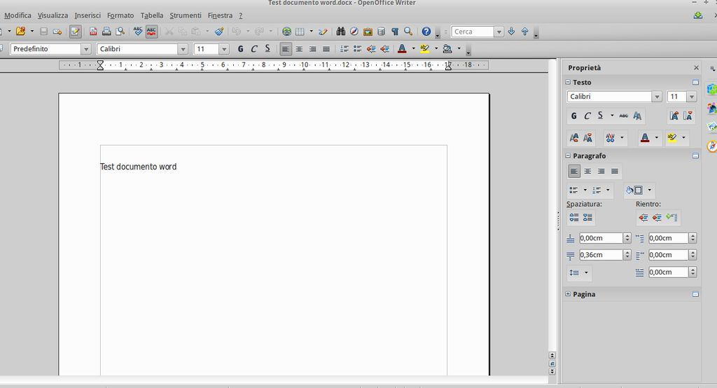 Apache OpenOffice 4.0 Writer