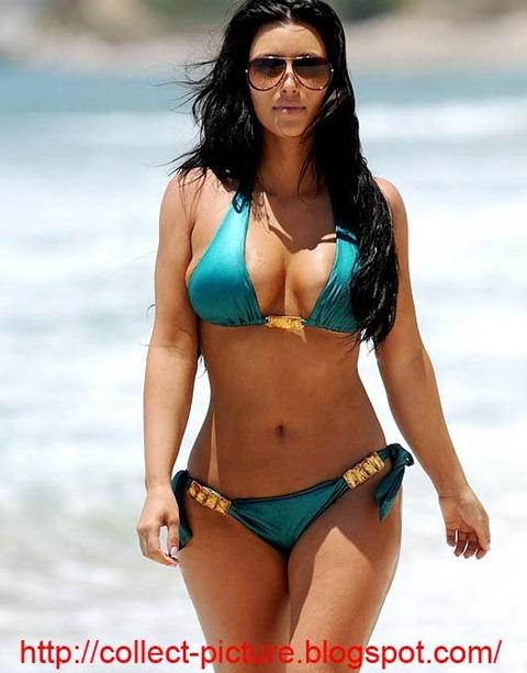 hot kim kardashian bikini (5)