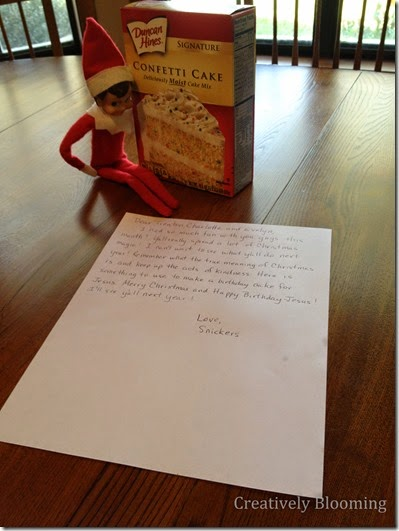 Elf on the Shelf - Ideas for using your elf to spread kindness