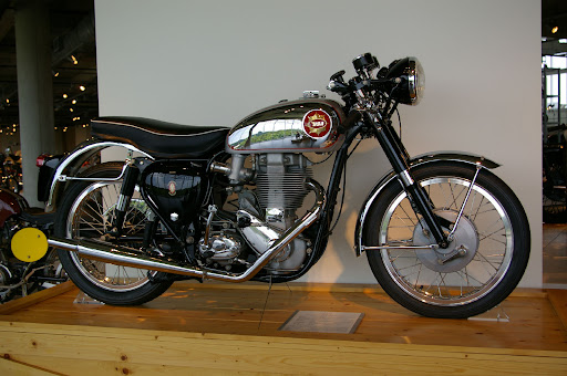 1960 BSA Gold Star Clubman's.