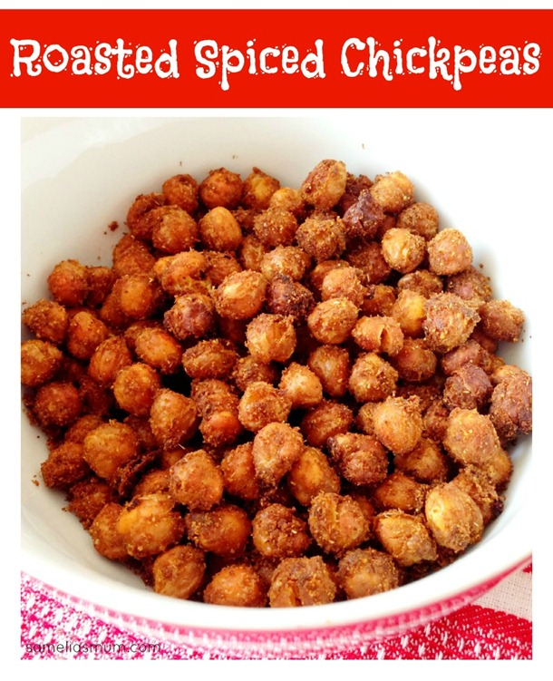 Roasted Spiced Chickpeas SameliasMum