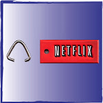 Netflix Custom Zipper Pull