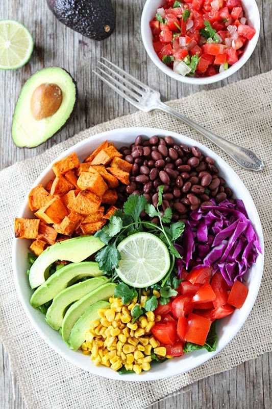 Two Peas and Their Pod - Sweet Potato Mexican Salad