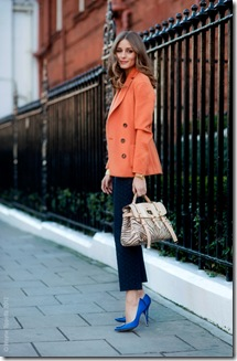 orange and blue via the simply luxurious life