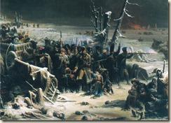 Ney à  Krasnoï par Adolphe Yvon (1817-1893)