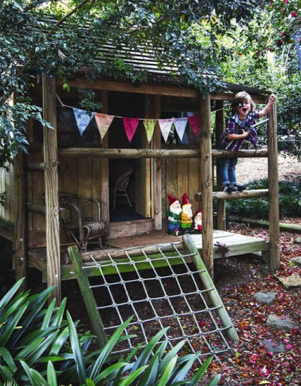 Sin pecado concebida casitas de juego exteriores for Casita de juegos para jardin