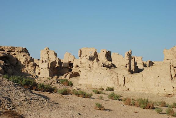 Turfan - Ruines de Jiaohe 7