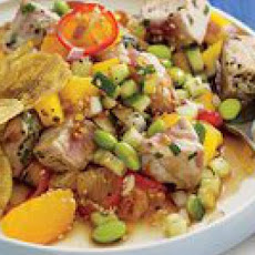 Tropical Tuna Salad Supper