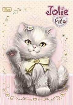 Jolie Pet - gatinho cinza,bonecas jolie, jolie decoupage,jolie artesanato