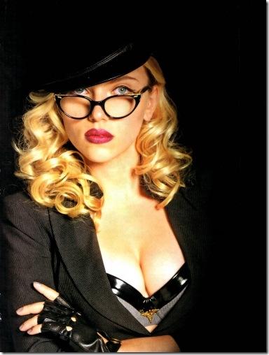 Scarlett Johansson Glasses