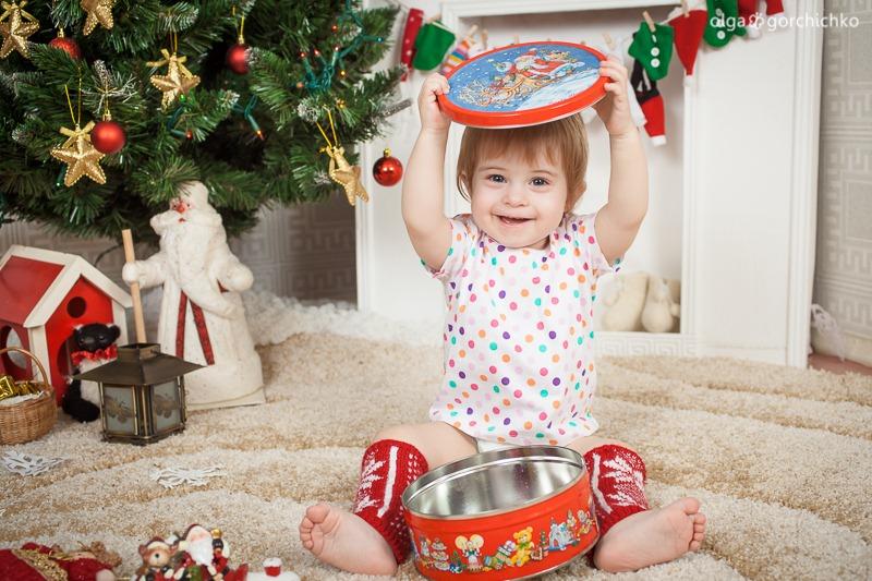 Детский новогодний фотопроект Рождественские мечты. 5. Настенька-8430