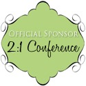 2 1 Conference Button Official Sponsor