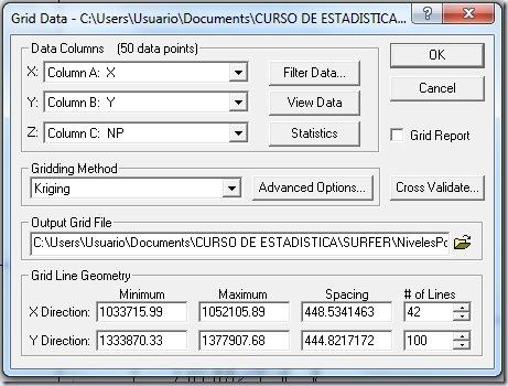 F23 Ventana Grid Data