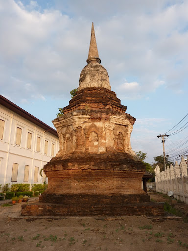 One of the remaining pagodas the city was built around.