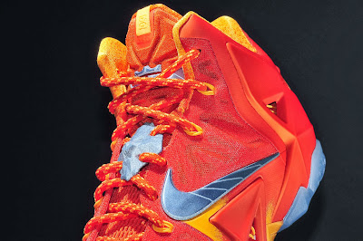 nike lebron 11 gr atomic orange 4 09 forging iron New Look at Forging Iron LeBron XI and Its Sick Packaging!