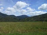 Gunung Raya seen from the western side of Danau Kerinci just south of Sungai Penuh (Dan Quinn, May 2013)