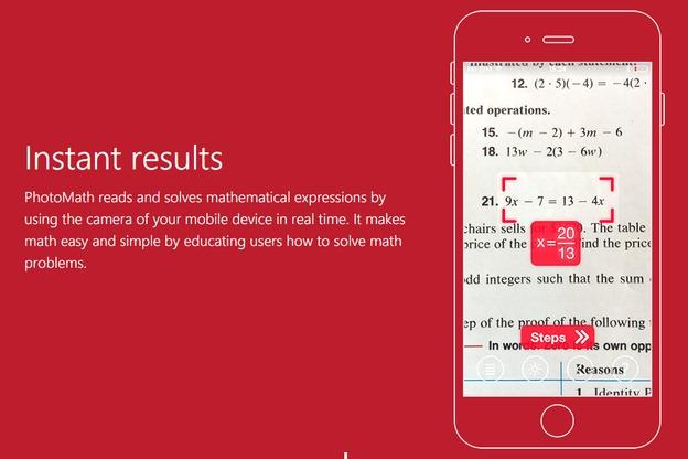 photomath app iphone