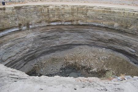 Imagini Turkmenistan: Craterul uscat