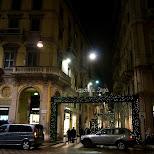 via della spiga in Milan, Milano, Italy