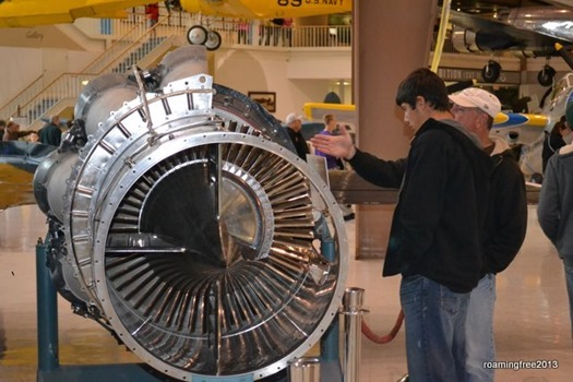 Tom explains a turbine engine