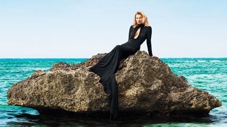 Kate Moss on Harper&#39;s Bazaar June-July 2012 2