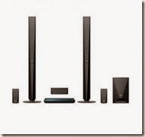 Infibeam : Buy Sony 3D Blu-Ray Home Theatre BDV-E4100 at Rs. 26449 only
