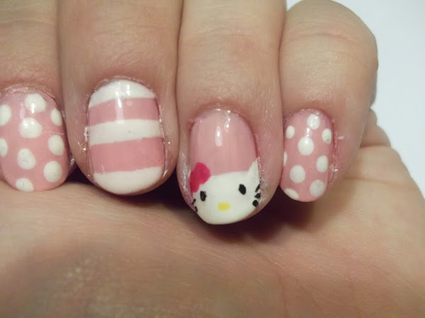 Hello Kitty Nail Designs For Short Nails 1024x768 Hello Kitty Nail Designs For Short Nails