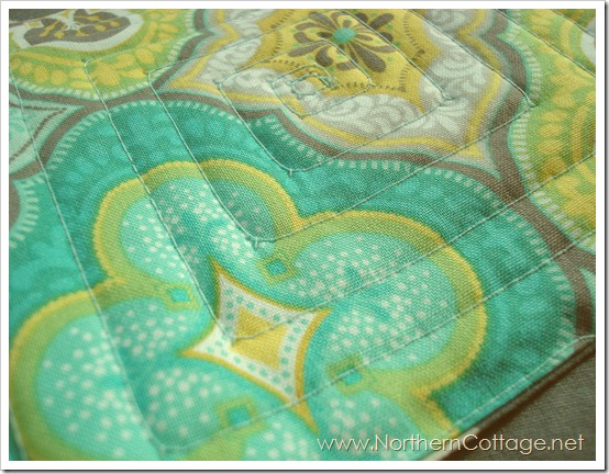 quilted mug rug front@NorthernCottage.net