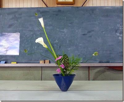 【盛花】タンチョウアリアム、カラテア、キリガクレ、カラー、スターチス