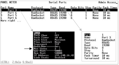 RS416 Telnet Configuration
