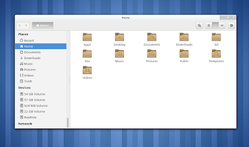 Gnome 3.8 il nuovo set d'icone