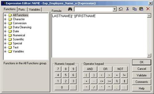 Informatica Expression