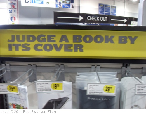 'Judging a book by it's cover?' photo (c) 2011, Paul Swansen - license: http://creativecommons.org/licenses/by-nd/2.0/