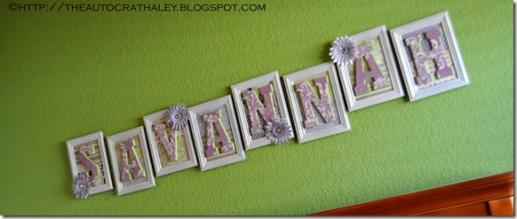 NAME LETTERS (7)