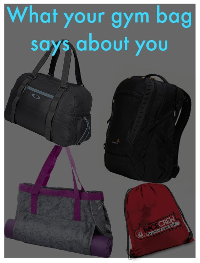 what your gym bag says about you