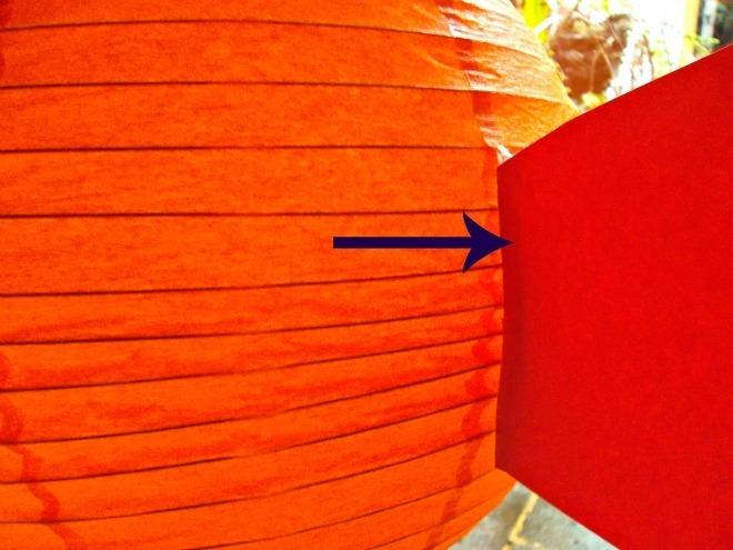 paper lantern goldfish tail