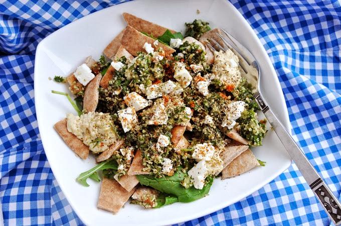 greek pita salad (19)
