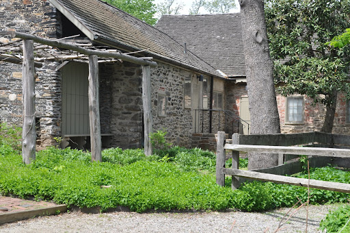 Using stone that he quarried himself, John Bartram built this home. He began the process in 1728 and continued to add on until 1770.