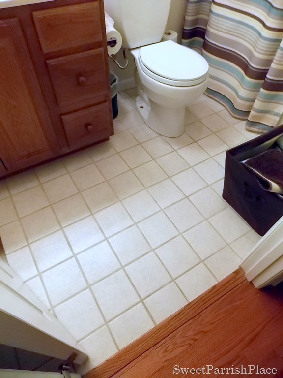 How I renewed my Grout for $6 • Sweet Parrish Place