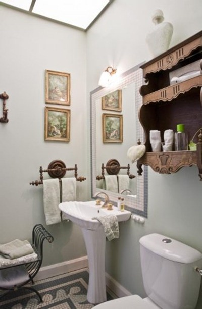 salle-de-bain-chambre-verte